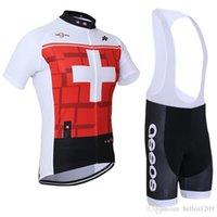 Wholesale 2016 Assos hot men cycling jersey clothing set short sleeve jacket bib gel pad shorts kit summer bicycle sport