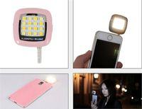 Lampe Portalbe rechargeable Sync mobile Tablet externe 16 flash LED Mini caméra Lumière d'appoint pour la photographie selfie Universal