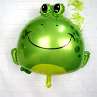 balloon animal frog - 62 cm animal cartoon film balloons aluminum foil frog children s classic toys decorated birthday party balloon