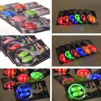 Wholesale 6th Generation LED Luminous Lights Up Sports Shoelace Fiber Optic EL Shoelace For Halloween Christmas Led Rave Toy Supplies