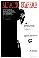 al room - Scarface Al Pacino Movie Score Classic Gangster Action Movie Film Poster Print x36 inch art silk poster Wall Decor