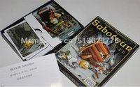 Wholesale english saboteur plastic sealed board game table game card playing ogos de tabuleiro dwarf miner jeu de