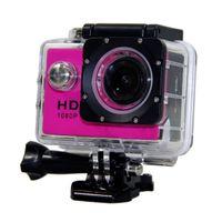 Wholesale Waterproof Inch LCD Screen SJ4000 style P Full HD Camcorders Helmet Sport DV M Action Camera VS SJcam GO Pro