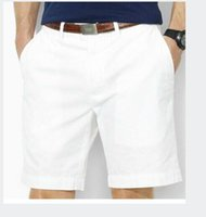Wholesale BRAND Men Shorts Straight Knee Length Zipper Shorts Plus Size Summer Brand Fashion Casual