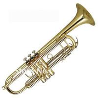 best monel - best music Very Nice Bb Trumpet Gold Horn Monel Valves New W Case in stock