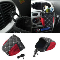 Wholesale New Auto Car net Storage bag Mobile Phone Pocket car Organizer hanging Bag Holder Accessory hot selling