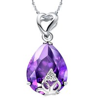 affordable trendy jewelry - Flower Statement fashion woomen Necklaces Sterling Silver High End Affordable Trendy Necklace High Quality Charm Jewelry N432