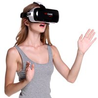 Wholesale Latest VR CASE RK TH Gamepad Virtual Reality D Glasses Helmet VR BOX Headset For Smartphone inch inch with Retail Package