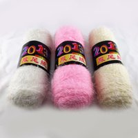 Wholesale Fissidens Cashmere Knitting Yarn Soft Natural Smooth Needle Crafts Pretty Color