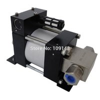 air cast pump - Model M10 pressure ratio maximum bar output Mini air driven liquid pump for testing