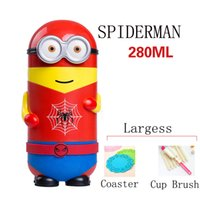Wholesale Minions Cool Warm Stainless Steel Vacuum Cup Flask Minions Party Supplies Vacuum Cupping Set Minions Thermos Flask