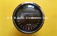 Wholesale KUS Rudder Angle Instrument Rudder Angle Gauges mm For Boat With Rudder Angle Sensor Black Color