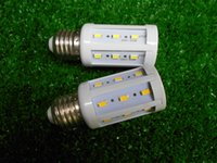 Wholesale E14 W LEDs LM White LED Corn Light Bulb White light Ultra Bright With Lighting Angle of Degree K Daylight v En