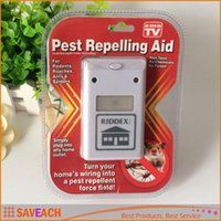 Wholesale Hot Sale Electronic Pest Rodent Control Repeller With US Plug Riddex New Arrival