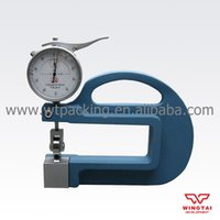 Wholesale Measuring Range mm Mwasuring Depth mm Continous Testing Leather Thickness Gauge BC03C