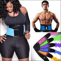 Wholesale S XXL Color Women Men Neoprene Slim Waist Girdle Belt Waist Trainer Training Cinchers Underbust Control Corset Firm Slimming Belly Band