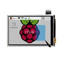 Wholesale Raspberry Pi LCD TFT Touchscreen Display Touch Shield Stylus Raspberry pi Raspberry PI Model B Board Kit