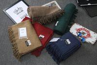 Wholesale ACNE Studios Echarpe Luxury Brand Scarf Unisex Female Male Canada Wool Cashmere Scarf Pashmina Tassels Women Men Wrap Warm