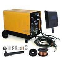 aluminum mig welder - No Gas Stainless Aluminum Welding Machine Gas Amp MIG Welder Flux