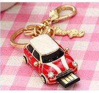 Wholesale Rovie MINI car U disk U disk USB logo Roadster Car U diamond disc gift gift bag mail