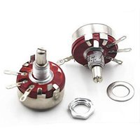 Wholesale K Ohm W WTH118 A Round Shaft Carbon Rotary Taper Potentiometer