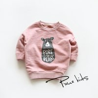bears trades - Classical joker cartoon bear private based long sleeved cotton fleece Han edition of foreign trade children s clothing