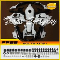 Wholesale Injection Mold Fairing Kit With Tank Cover Fits CBR600 F3 CBR White B52