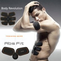Wholesale SIXPAD Training Gear ABS Fit Body Revolution Abdominal muscle Exercise Body Exercise Massager Equipment High Quality