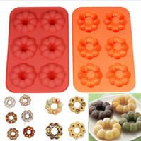 baking doughnuts - Doughnut Silicone Mould Muffin Cake Chocolate Cookie Candy DONUT Bake Mold Brand New Good Quality