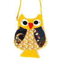 animal mix handbag - Mixed Color children Fashion cartoon owl wallet new girl cute owl bag owl purse Handbag wallet JF