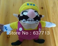 Wholesale Super Mario Bros Plush Toy Doll Soft Stuffed Animal Wario quot plush super mario wario plush toy doll