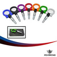 Wholesale PQY RACING European Car Auto Trailer Hook Eye Tow Towing Racing Front Rear Universal Tow Hook PQY THBE61
