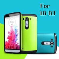 best cell cases - 2016 Hot Sell Best Quality Slim Armor Soft TPU And Hard Plastic Combo Case For LG G3 D855 D850 F400 VS985 LS990 Cell Phone LGG3 Back Case
