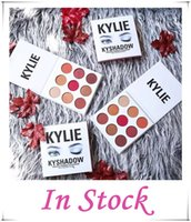 Wholesale In Stock NEW Kylie Jenners Burgundy Eyeshadow palette Kylie Jenner Cosmetics The Burgundy Eyeshadow Palette Preorder Kyshadow