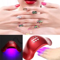 Wholesale Mini Led Nail Dryer Lamp Phototherapy Lamp W Speed Timer LED Nail Machine UV Gel Nail Polish Dryer Manicure Tool
