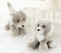 Wholesale Cute husky plush toy feel smooth look cute kids holiday gift necessary