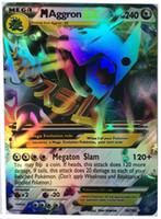 Wholesale 2016 Flash card ALL MEGA poke cards EX Charizard Venusaur Blastoise For children Gift English Card freeshipping