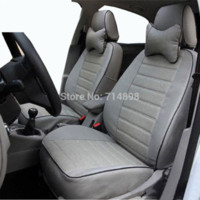 audi leather seat covers - car seat cover pu leather proper fit for Audi A4 b6 full set same structure and design four season auto