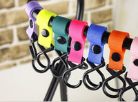 baby clip hangers - Fashion Baby Stroller Hook Clips Infant Toddler Stroller Accessory Strong Hanger Hooks Colors S1075