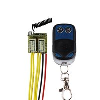 Wholesale DC V V CH Relay Remote Switch A Relay Wireless Switch NO COM NC Output V Switching Mini Micro Relay Momentary Latch
