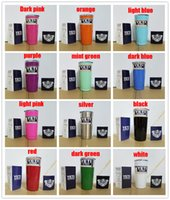Wholesale New Colors Beer Mugs oz oz Yeti Cup Beer Cup by SFexpress Yeti Rambler YETI Coolers Rambler Tumbler Double YETI cup colsters