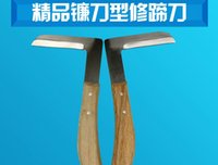 shoe repair equipment - Cattle with hoof knife L veterinary repair shoe tool to right hand sickle veterinary equipment