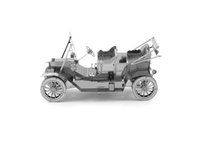 Wholesale Metal DIY nano D three dimensional puzzle Assembling model Ford T vintage car model
