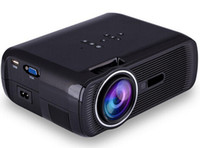 Wholesale BL P HD Mini Portable Projector LED Cenima Home Theater AV USB SD VGA HDMI x1080 LCD Projectors