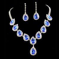 american halloween decorations - 2016 Cheap New Wedding Necklaces Wedding Dresses Crystal Beads Party Bride Chandelier Rhinestone Party Decoration Imitation Diamond