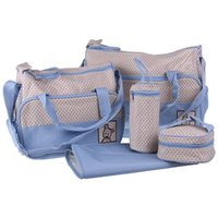Wholesale Mummy Diaper Organizer Colors Set High Quality Tote Baby Shoulder Diaper Bags Durable Nappy Bag Mother Baby Bag