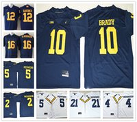 active jersey - Stitched NCAA Michigan Wolverines Football Tom Brady College Jerseys Charles Woodson Jim Harbaugh Peppers Howard Jersey Sport