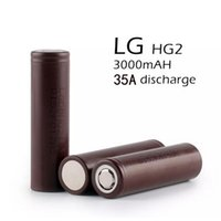 amp shipping - 100 Korea HG2 mah Cell Battery Drain Amp V Rechargeable Lion Batteries Free Ship