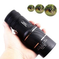Wholesale Day Night Vision x52 HD Optical Monocular Hunting Camping Hiking Telescope H210780