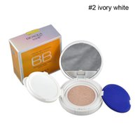 Wholesale BIOAQUA BB Cream Air Cushion Nude Cream Foundation Concealer Extreme Bare Strong Whitening Moisturizing With Sponge Mirror